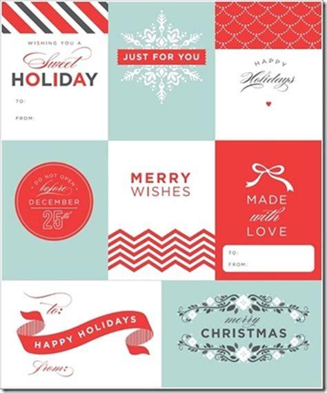 elegant printable gift tags elegant chevron gift tags set