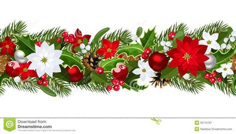 google images poinsettia poinsettia clipart horizontal flower border pencil and