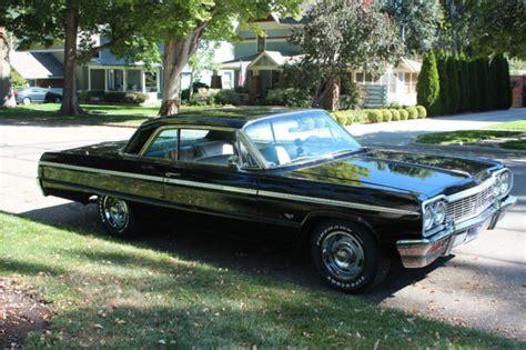 silver 64 impala 1964 64 chevrolet chevy impala black silver ss v8