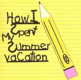 My Summer by Kindergarten News June 2015