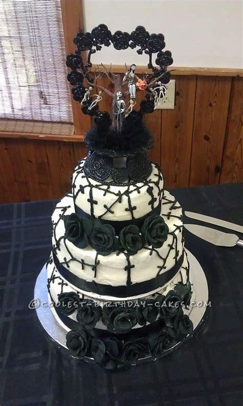 nightmare before cake ideas cool nightmare before wedding cake