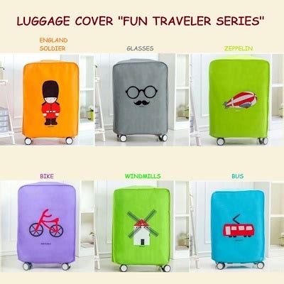 Luggage Cover 26 Inch Sarung Pelindung Koper Safebet Sepeda Bicycle qoo10 luggage cover traveler series penutup