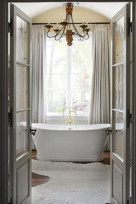 Bathroom Two Doors 17 Best Ideas About Gray Curtains On