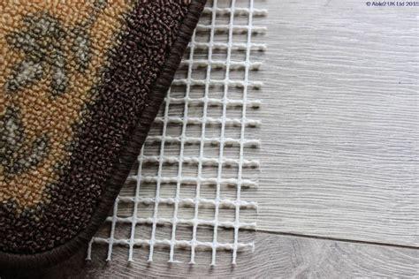 floor rug anti slip underlay stayput non slip rug to floor underlay 60 x 120cm scootamart