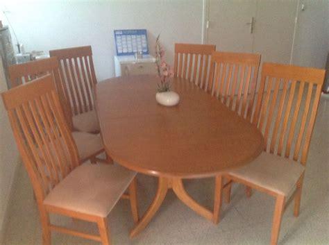 table et 6 chaises 1 table et 6 chaises 224 djibouti