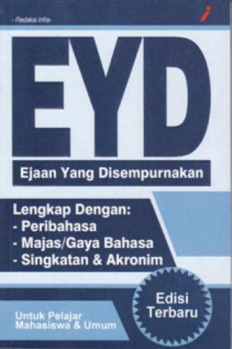 Intisari Eyd Ejaan Yang Disempurnakan buku murah eyd ejaan yang disempurnakan bahasa dan kamus