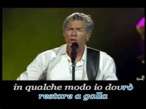 baglioni bello testo claudio baglioni strada facendo live karaoke italiano fair