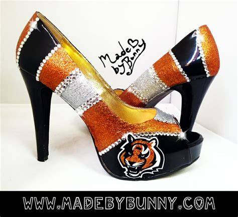 cincinnati bengals high heels 122 best images about who dey on football