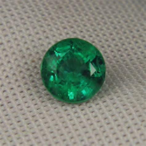 Demantoid Garnet 1485 great color zambian emerald calibrated 6 mm gli