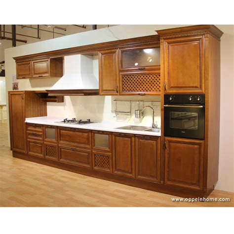 A Guide To Select Solid Wood Kitchen Cabis Kitchen Ideas Solid Wood Kitchen Furniture