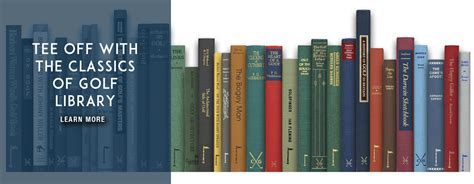 the book of golf and golfers classic reprint books classics of golf the world s best reading golf books