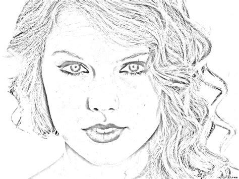 taylor swift coloring pages easy taylor swift coloring pages bestofcoloring com