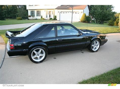 1992 mustang lx 1992 black ford mustang lx 5 0 coupe 17251468 photo 2