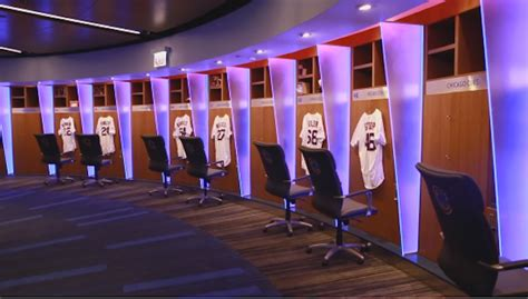 cubs locker room look the chicago cubs new locker room looks like a futuristic discotheque stack