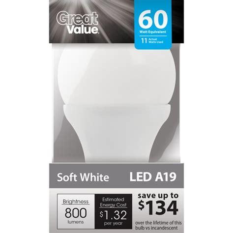 Great Value Led Light Bulb Amazing Discounts On Led Light Bulbs Economics