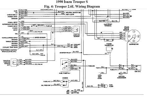 1990 isuzu trooper wiring diagram efcaviation