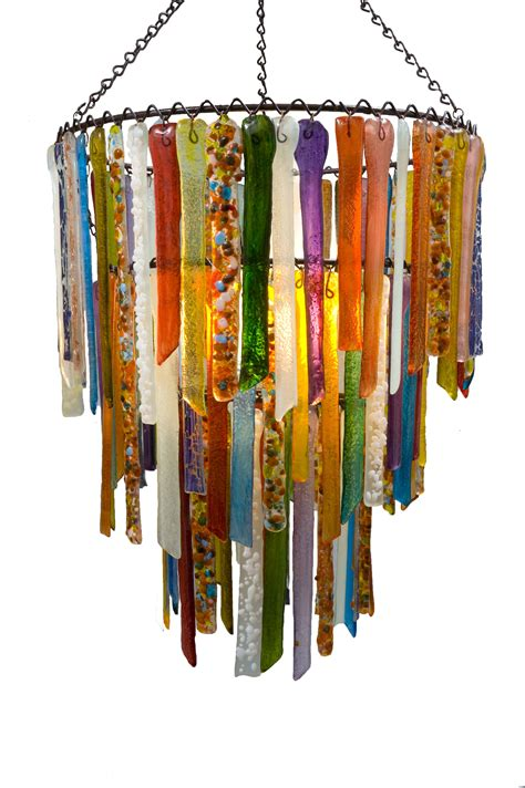Recycled Glass Chandeliers Multi Coloured Vibrant Recycled Glass Chandelier Rhapsody Lights Design Lighting