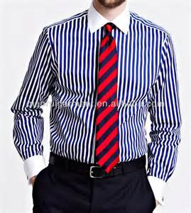 men s slim fit white collar french cuff dress shirt view