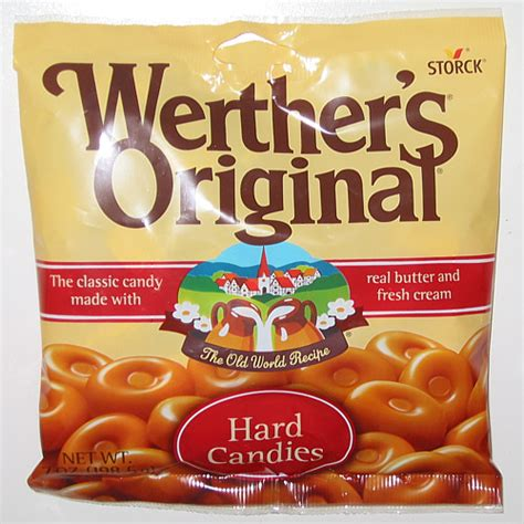 Unique Reviews: Werther's Original Hard Candies Review