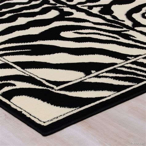White And Black Area Rugs Black And White Area Rug Smileydot Us