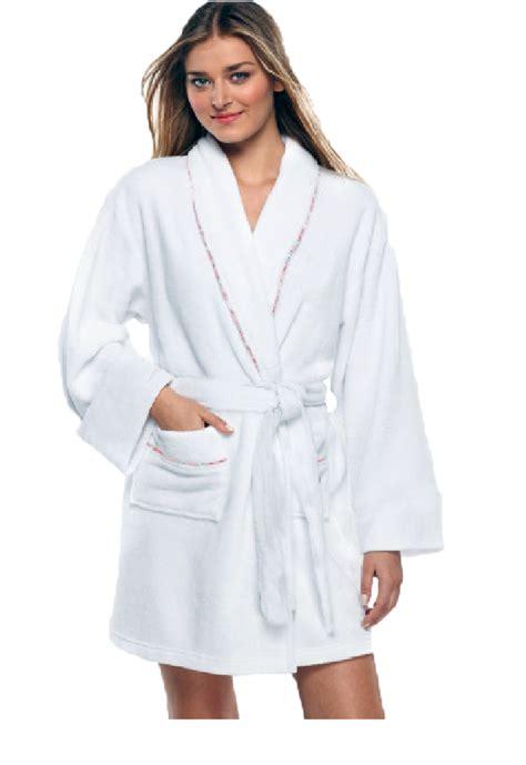 white robe 100 cotton s white bath robe w pockets