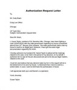 Authorization Letter Request Letter Of Authorization 10 Free Documents In
