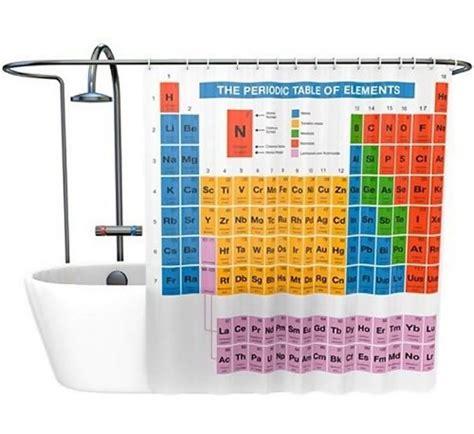 tenda doccia tavola periodica tenda da doccia tavola periodica degli elementi sistema