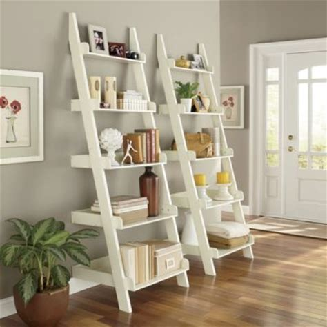 best 25 white ladder shelf ideas on white