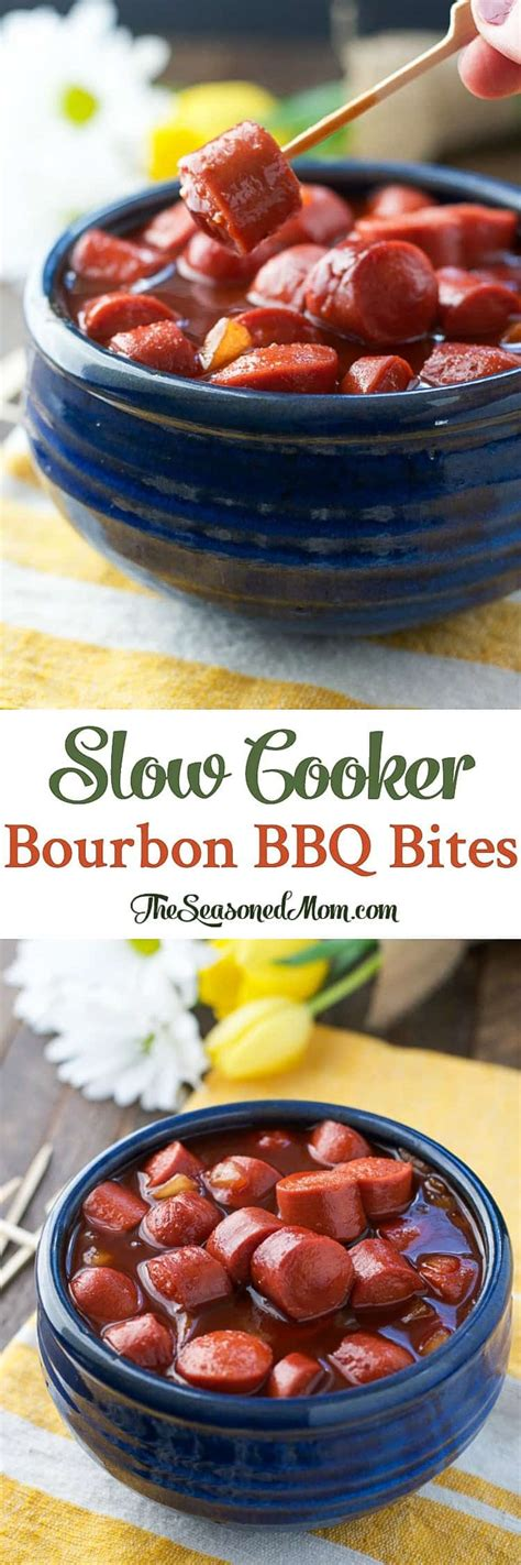 appetizers cooker easy appetizers cooker bourbon barbecue bites the