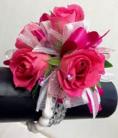 pink corsages for prom pin by chrissy story on crafts