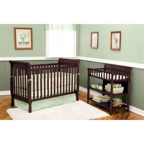 Baby Crib Colors by Delta Children Glenwood 3 In 1 Convertible Sleigh Crib