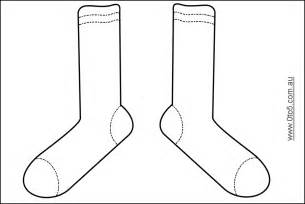 sock template it s sock day students will wear their craziest