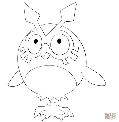 noctowl pokemon coloring pages hoothoot images pokemon images