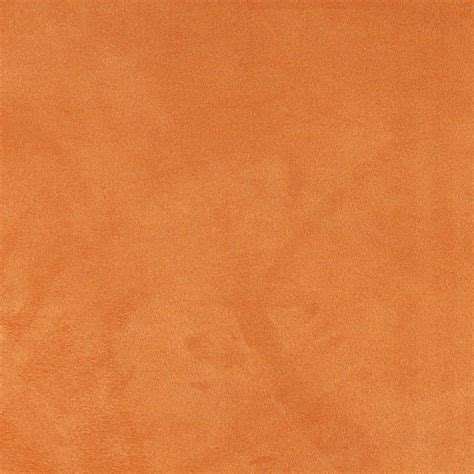 upholstery fabric orange light orange microsuede upholstery fabric by the yard