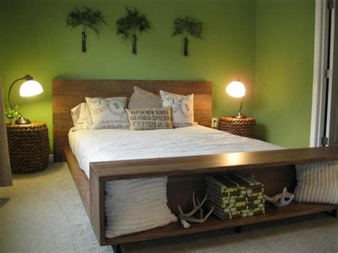 olive green bedroom paint color - Olive Green Bedroom