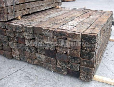 venta traviesas de tren foto traviesas de tren recuperadas roble de maderas