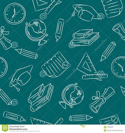 doodle pattern school seamless doodle pattern school royalty free stock image