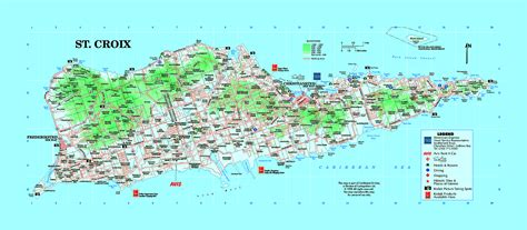 map of st croix islands popular 133 list st croix map