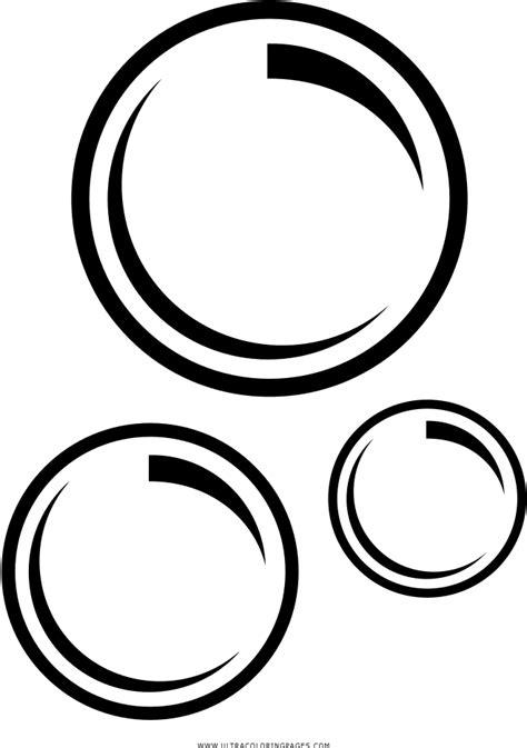 Soap Bubbles Clipart Black And White - Bubbles Coloring