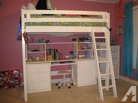 pottery barn loft bed with desk loft bed with desk underneath similar to pottery barn for