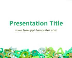 math template powerpoint math ppt template free powerpoint templates
