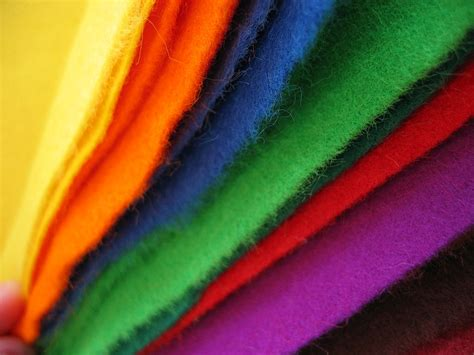 Acrylic Fiber file colored felt cloth jpg wikimedia commons