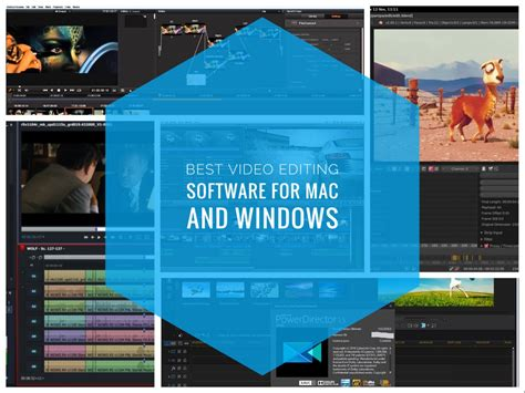 best mac software best editing software for mac and windows