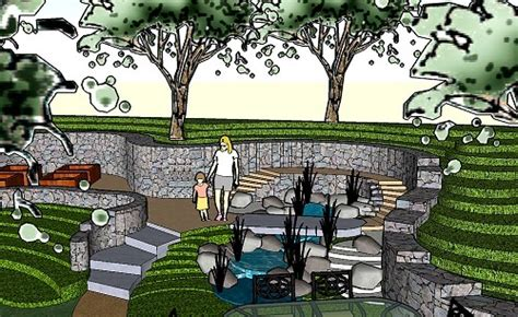 landscape layout sketchup sketchup and online landscape design creating a 3d