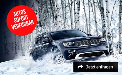 Auto Leasing Ohne Anzahlung Jeep by Jeep Grand Sonderkonditionen Leasing