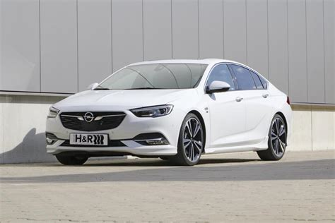 Opel Insignia Tieferlegen by Opel Insignia With Esprit H R Components For The
