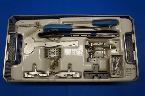 Pinset Aesculap aesculap np610 orthopilot knee instrument set ebay