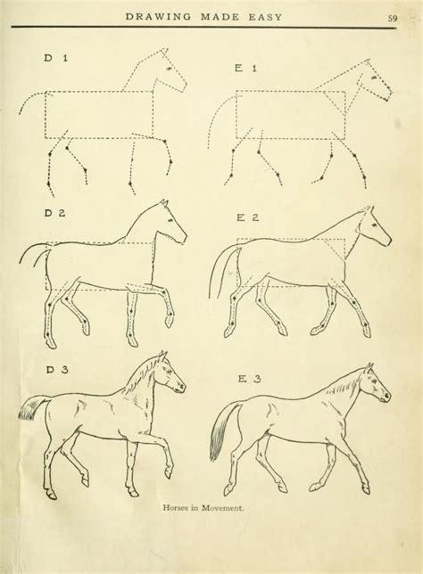 libro drawn from the archive m 225 s de 25 ideas incre 237 bles sobre caballo dibujo facil en tutorial para dibujar
