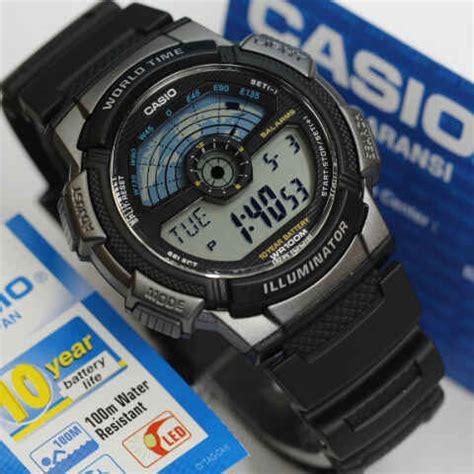 Casio Ae 1100 jam tangan casio ae 1100w original