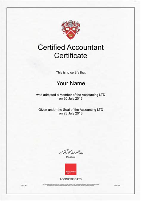 Post Mba Accounting Certificate by Accounting Certificate 1 Diploma Outlet